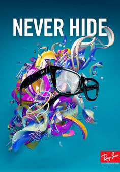 Ray-Ban Never Hide by Ben Fearnley, via Behance