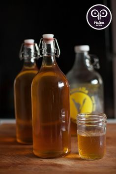 Everything You Need To Know and How to Make Kombucha Tea #guthealth #recipe #paleo #PaleoPorn