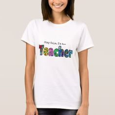 Stay Calm. I'm a teacher! T-Shirt - diy cyo customize create your own personalize