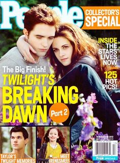 Breaking Dawn 2 People magazine sprecial edition, 11/12