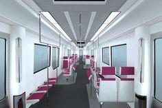 Urban train car