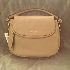 Kate spade cobble hill small Devin Brand new Kate spade cobble hill small Devin in the color warm putty, includes dust bag, care card and long strap. Beautiful bag as a shoulder bag or a cross-body kate spade Bags Satchels