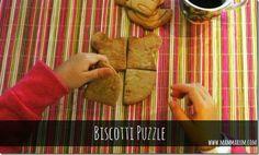 Mammarum: Biscotti puzzle per la colazione dei bambini