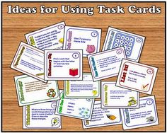 Task Card Corner: In the Classroom