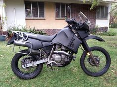 KLR 650. Total rebuild and resprayed. In use every day with more then 150 000 km on the clock.