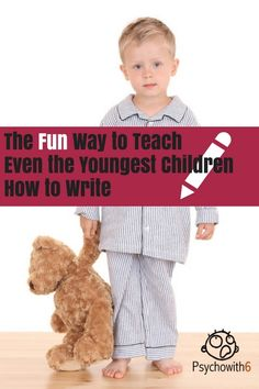 The Fun Way to Teach Even the Youngest Children How to Write