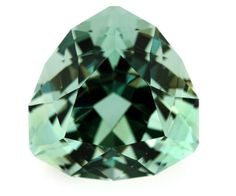Faceted green fluorite, 146 ct, Emmaville, New South Wales