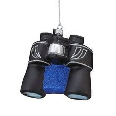 Kurt Adler Noble Gems Glass Binoculars Ornament