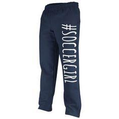 Soccer Fleece Sweatpants #SoccerGirl Soccer Sweatpants, Soccer Gifts, Soccer Players, Cross Training, A Team, Squats, Hockey, Girly, Unisex