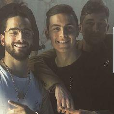Maluma, Paulo Dybala e suo  fratello Mariano