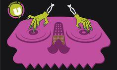 ESSBEE CREATIVE – Halloween party – Poster design