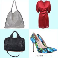 FRIDAY´S NEW ARRIVALS Tasche: #StellaMcCartney   Kleid: #PaulJoe  Tasche: #AlexanderWang  Pumps: #MiuMiu