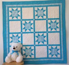 Unique Handmade Baby Quilts - The Perfect Baby Gift by NurseryRhymeQuilts Baby Patchwork Quilt, Baby Girl Quilts, Quilt Baby, Girls Quilts, Kid Quilts, Rag Quilt, Handmade Baby Quilts, Toddler Quilt, Quilt Labels