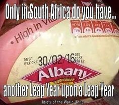 Another reason why South Africa is just South Africa!