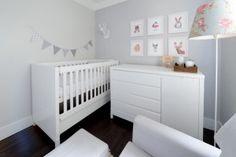 Quartinho de bebê clean e funcional