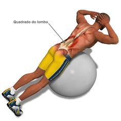 (PILATES) LOMBAR: O movimento do exercicio acima é baixar e elevar o tronco, lembrando que quem tem dor na região da lombar EVITE ao máximo elevar muito o tronco, faça no seu limite, se mesmo levantando pouco seu tronco a dor na lombar continuar, PARE o exercício imediatamente.