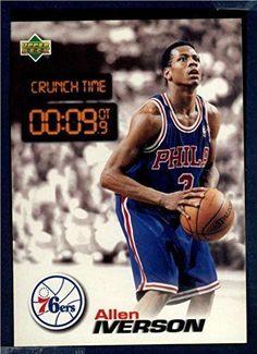 fd447a482af 1997 Upper Deck Nestle Crunch Time #CT33 Allen Iverson Allen Iverson, Upper  Deck,