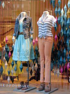 spring window display ideas | Beautiful Window Displays!: Anthropologie Window Displays