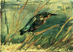 The Kingfisher, 1886.  Vincent van Gogh
