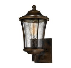 Buy the Elk Lighting Hazelnut Bronze Direct. Shop for the Elk Lighting Hazelnut Bronze Morganview 1 Light Outdoor Wall Sconce and save. Wall Lights, Sconces, Elk Lighting, Outdoor Sconce Lighting, Outdoor Wall Sconce, Creative Lighting, Outdoor Walls, Outdoor Sconces, Light