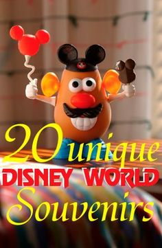 20 unique Disney World souvenir ideas souvenirs - I'm a little bit in love with that Mr Potato Head :)