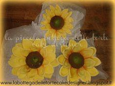 sunflowers gumpaste