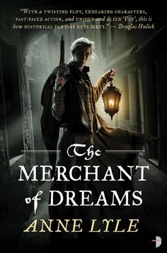 Book 2, The Merchant of Dreams, this time showing Mal's partner, Coby Hendricks. Coming spring 2013! (Credits as per previous cover.)