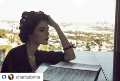 #Repost @charlsabrina with @repostapp  'Practice your skill until you're too good to ignore' @tailopez  #editorial #hollywoodhills  @ellementsmagazine #ellementsmagazine #shoot #fashion #piano #sheetmusic #tailopez #california #photographer #model by travel.mm