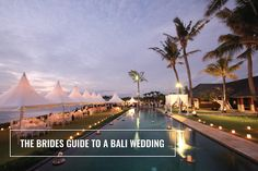 We thought after three members of our amazing team being lucky enough to  have their wedding in Bali in the past 4 months that we should share The  Bride's Guide to having the best Bali wedding.