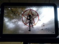 Gallery glass window-Rush Symbol