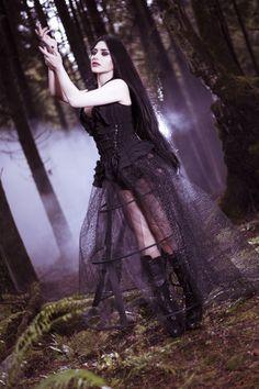 Model: Mahafsoun Photographer: Deadly Photography Outfit: Pretty Bastard