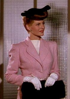 'Cover Girl' (1944) Director: Charles Vidor. Rusty Parker / Maribelle Hicks (flashback sequence) (Rita Hayworth).