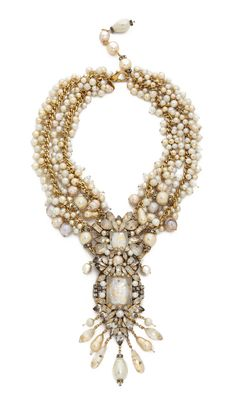 Erickson Beamon Imitation Pearl Necklace