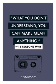 13 reasons why quotes 13 Reasons Why Poster, 13 Reasons Why Reasons, 13 Reasons Why Netflix, Thirteen Reasons Why, Netflix Quotes, Movie Quotes, Netflix Series, Bible Verses Quotes, Book Quotes