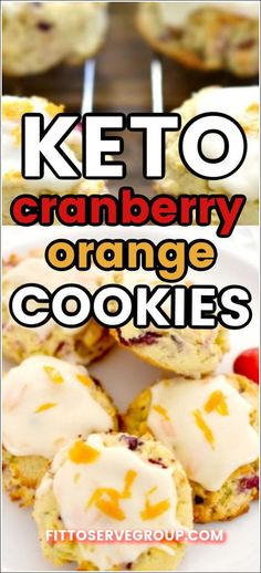 These delicious keto cranberry orange cookies feature the flavors of fresh cranberries, cream cheese, and orange for one delicious seasonal cookie. keto cranberry orange cookies| keto cranberry cookies| low carb cranberry orange cookies| low carb cranberry orange cookies