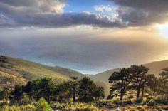 View from Llogara, Albania