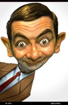 Caricature Corner: Mr.Bean