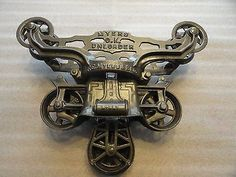 Antique Cast Iron Myers O.K Hay Trolley Carrier Unloader Pulley  Barn Industrial