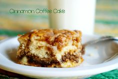 Cinnamon Coffee Cake - Make the night before and serve for breakfast.
