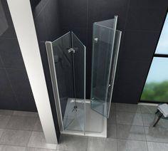 Afbeeldingsresultaat voor ruimtebesparende douchewand Angles, Used Mobile Phones, Drawers, Bathtub, Bathroom, Home, Camping, Easy, Divider Screen