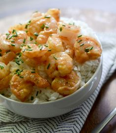 Skinny Bang Bang Shrimp 3 Smartpoints Recipe Main Dishes with shrimp, plain greek yogurt, green onions, sweet chili sauce, Sriracha Healthy Recipes, Skinny Recipes, Ww Recipes, Shrimp Recipes, Fish Recipes, Cooking Recipes, Recipies, Healthy Dishes, Cooking Ideas