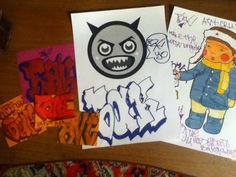 My morning pack. #Graffiti #Art #Bak #StreetArt #Sketch #Life