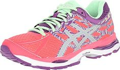 ASICS Women s GEL-Cumulus 17 Lite-Show Running Shoe Low light-ready running  shoe with reflective breathable mesh and synthetic upper featuring  ComforDry ... 340a30c9e3be