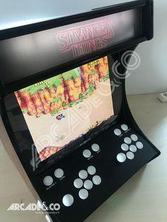 Arcade Stick, Retro Games, Arcade Games, Stranger Things, Game Art, Geek Stuff, Tech, Strange Things, Geek Things