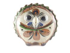 Antiques Atlas - Rare Jorge Wilmot Mexican Tonala Pottery (Owl)
