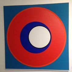 """"""" HPOCK"""" Genevieve CLAISSE. 1973 . Oil/ CAnvas 100 x 100 Cms. PIoneer of French Abstraction. #simplythebest #tbboxart #ARTPARIS #geometricabstraction"""