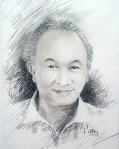 Yasirwan Uyun (Mantan dirut TVRI)Pencil on paper A3#art #drawing #pencil #sketch #instaart #instaartist #instagood #instasketch