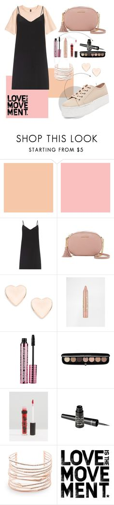 """Untitled 23"" by diasarygina ❤ liked on Polyvore featuring Farrow & Ball, Raey, MICHAEL Michael Kors, Ted Baker, Barry M, Marc Jacobs, Alexis Bittar and Steve Madden"