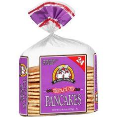 De Wafelbakkers Chocolate Chip Pancakes, 24 count, 33 oz