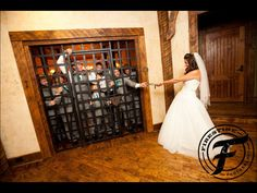 Wedding photography | bride and groomsmen | locked up | bridal party | fun ideas | funny wedding pictures | wedding | Georgia wedding | southern wedding |  Firestine Photography
